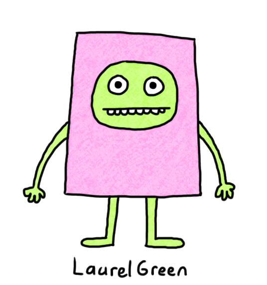 a drawing of a rectangular person